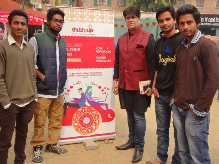Shubhpuja Hindu college event