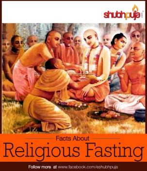 Religious fasting shubhpuja