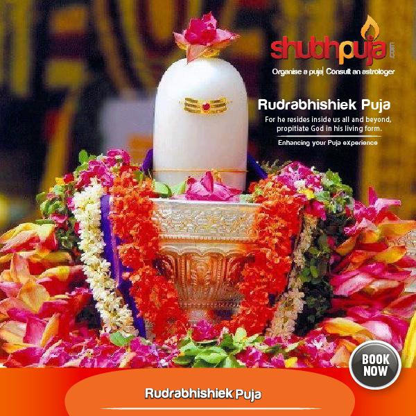 Shivling Abhishek or Rudrabhishiek Puja « Shubhpuja com