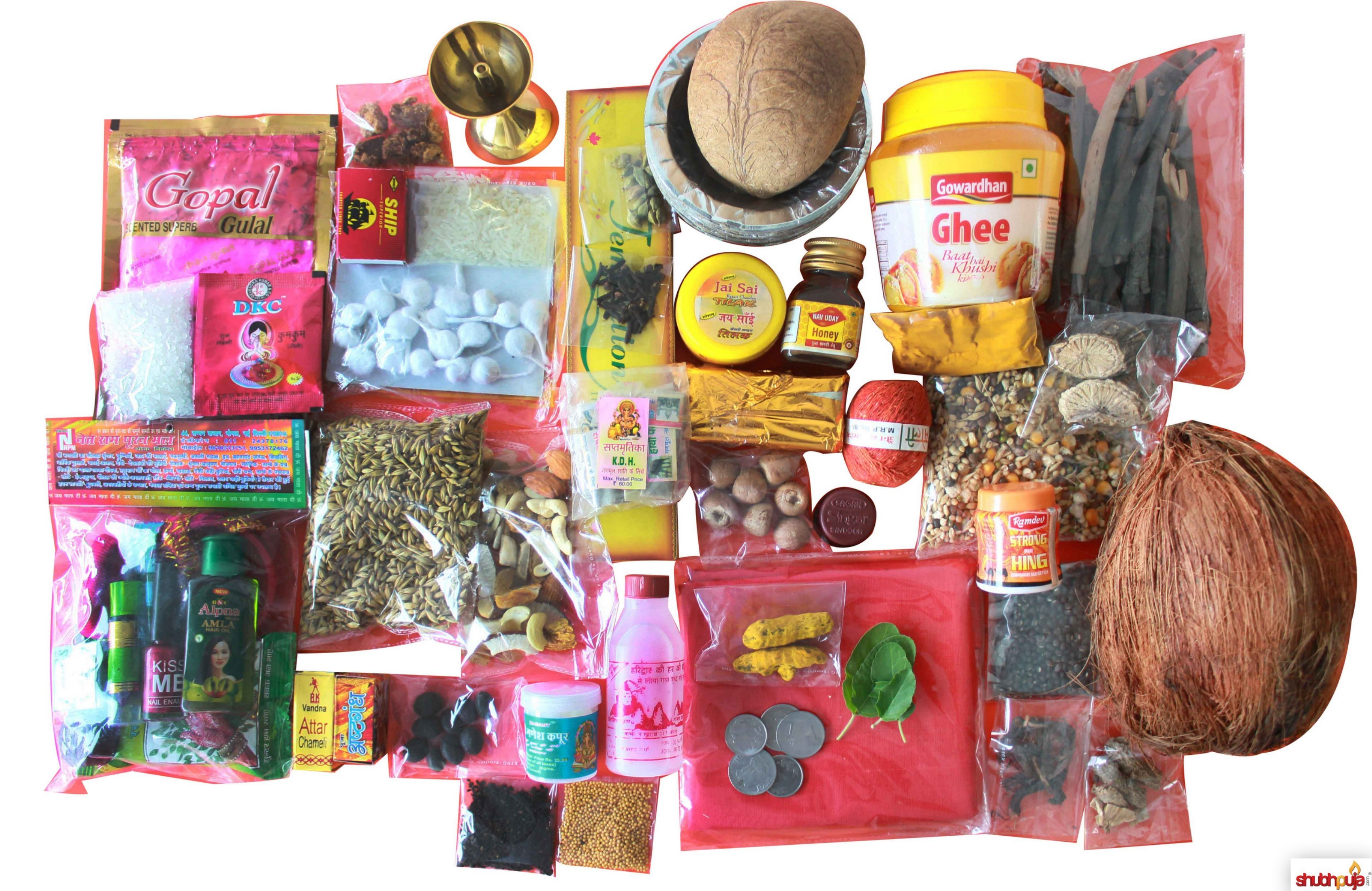 list of puja items « Shubhpuja.com