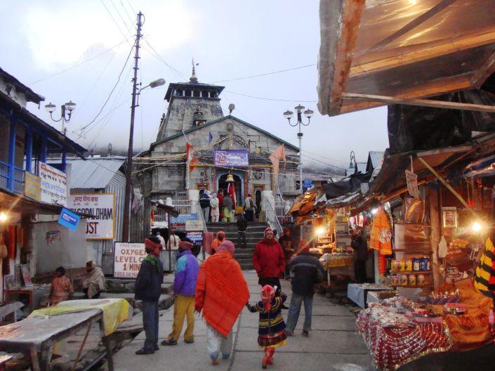 Kedarnath Ji before the Devastataion in 2014_o