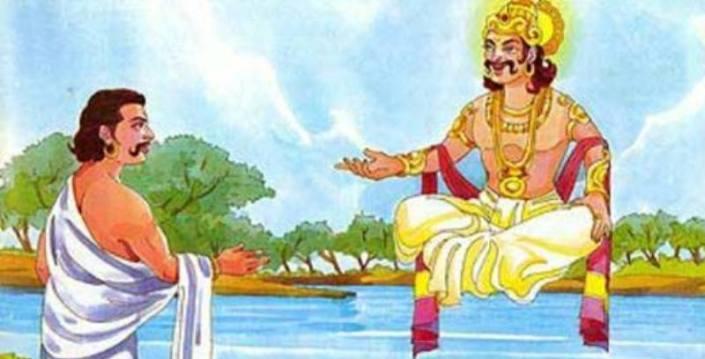 Mahabharata-Magical-Pond-and-Yaksha-Prashna