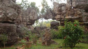 The Silatoransm rock arch 1500 milion years old