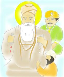 3173-16049-Guru-nanak-ji-showing-fruit-of-hon