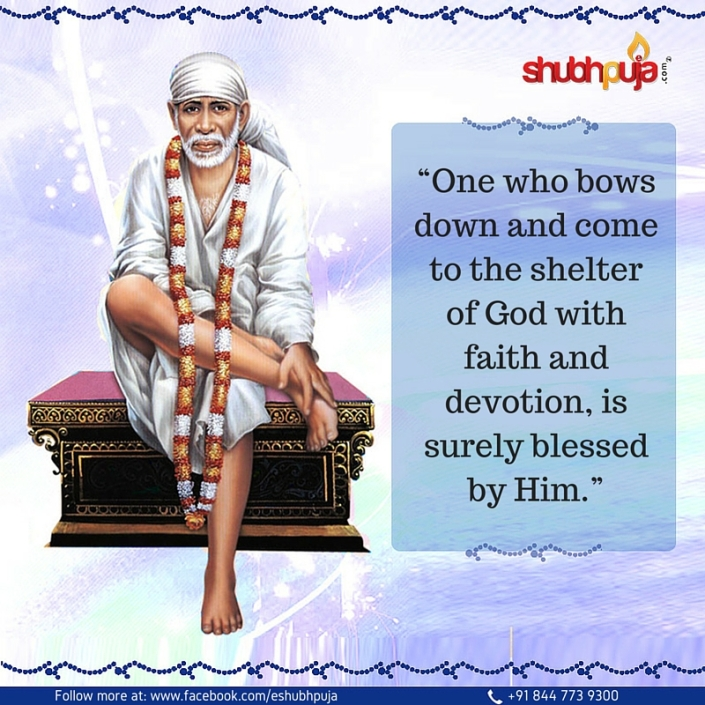 Sai baba remover of troubles