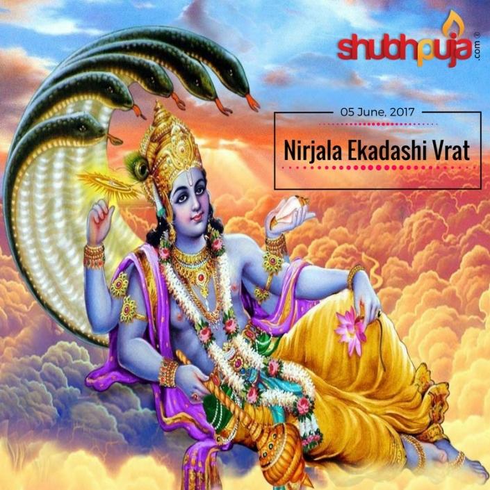 Shubhpuja nirjala Ekadashi 05062017