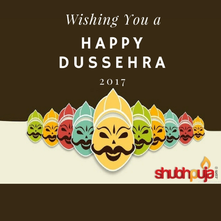 shubhpuja wishing everyone to happy dussehra