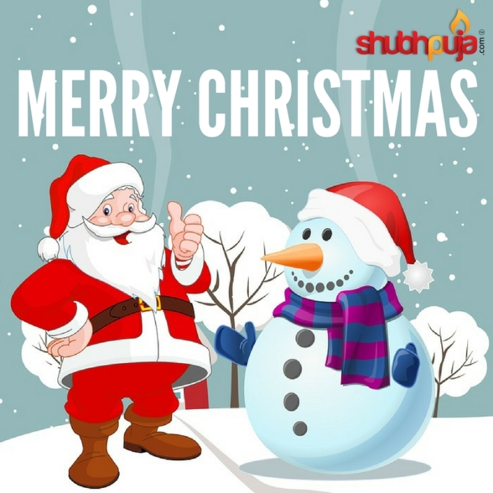 Love from our family to yours MERRY CHRISTMAS SHUBHPUJA.COM