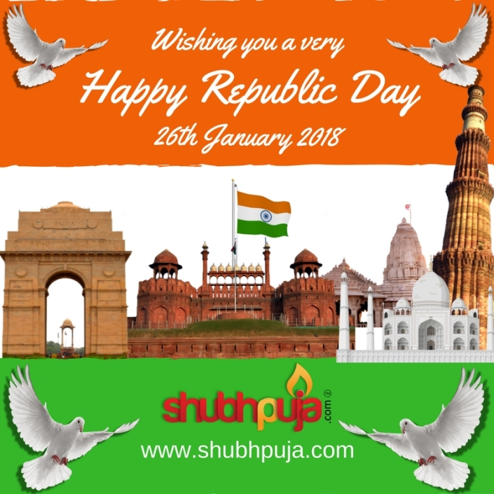 Shubhpuja.com wishing you a Happy republic day