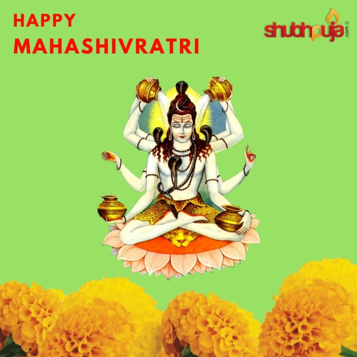 Happy Maha Shivratri 2018 by shubhpuja.com